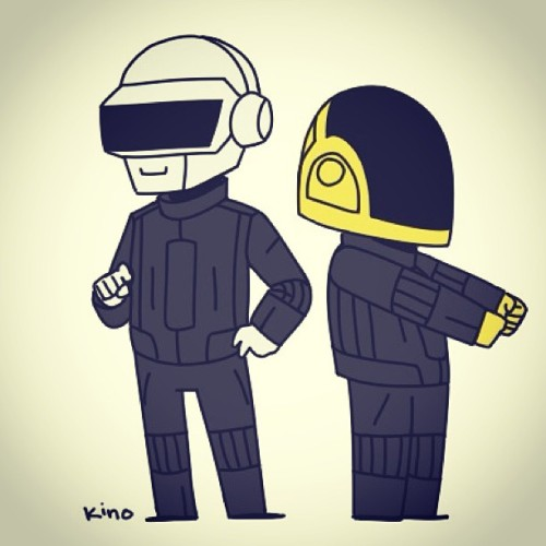 Daft Punk are still King to me… #DaftPunk #Music #Greatest #Aroundtheworld #igbest #instagood #France