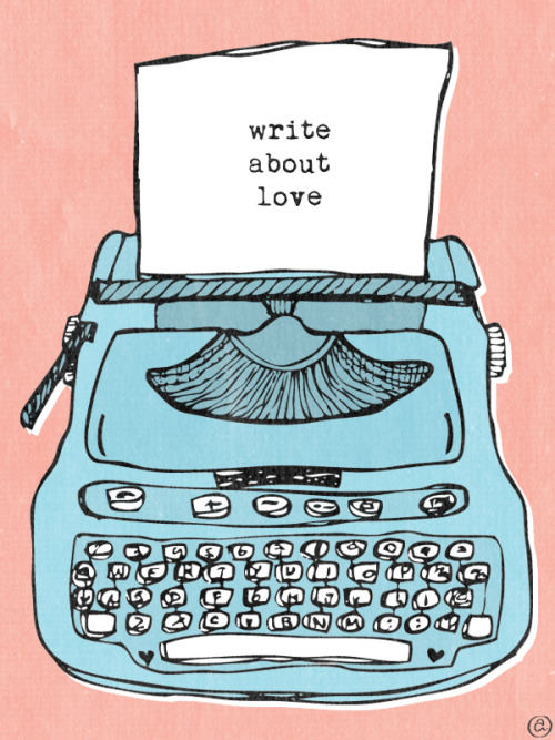 drawaboutlove:  Write About Love - http://youtu.be/FDTUAgMu6VU