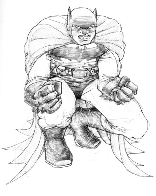 batman DKR by ~laseraw