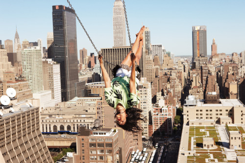M.I.A. photographed by Ryan McGinley