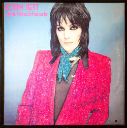 Glittered Vintage Joan Jett Album  (via HauteLook)