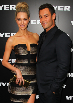 MYER AUTUMN/WINTER 2013 FASHION LAUNCH - JENNIFER HAWKINS & JAKE WALL  Thursday night was a night of glitz and glamour at the Melbourne city Myer store, as the biggest faces of Australian fashion celebrated the launch of the department store's Autumn/Winter 2013 fashion range. Sporting the latest leather, lace and peplum were hottest of the hottest including Jennifer Hawkins and Alexandra Agoston.  Male eye candy was also  present of course in the form of Mr Kris Smith!Check out the photos from the catwalk and red carpet here - who was YOUR best dressed? Image Source: Zimbio
