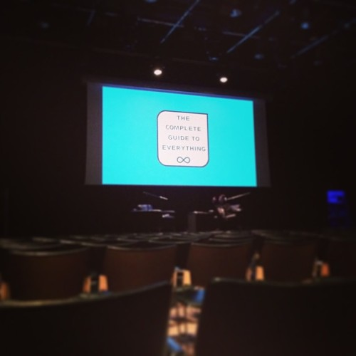 What it's like from the cheap seats tonight.  (at Kings Place)