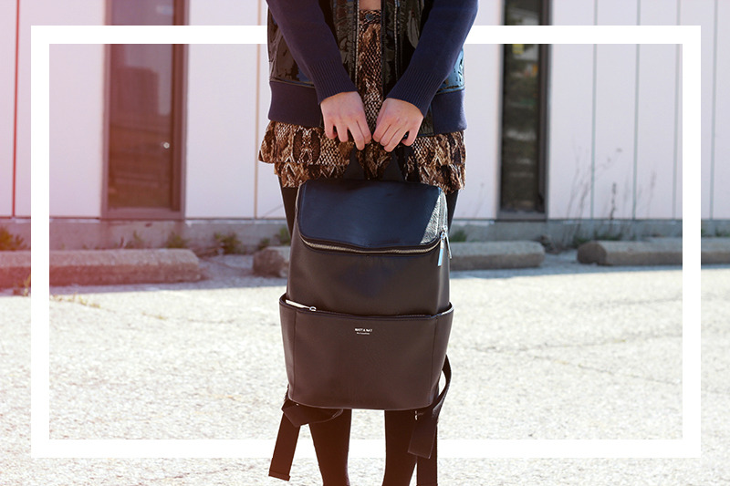 Lovely styling from Kastor & pollux with our Brave backpack!