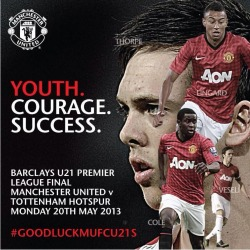 #Goodluckmufcu21 – View on Path.