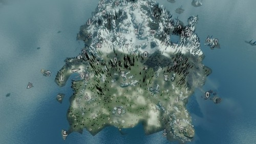 Today I generated the landscape textures for Solstheim Genesis...