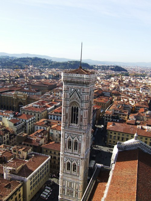 the rooftops of Florence, Italy