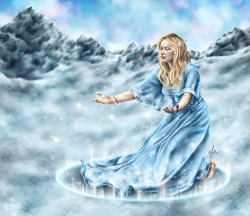 Snow Dance (Happy Winter Solstice!) Lady Winter's incantation introduces the winter season in the world with a graceful snow dance incantation. The winter solstice is her favorite day of the year. She departs when her work is complete, at the dawn of spring. See it on DeviantART | Buy the Print