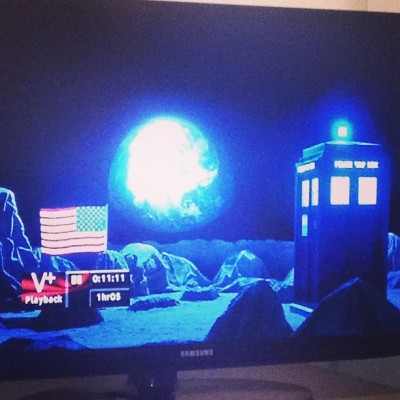 Dr Who time.  (at bracknell)