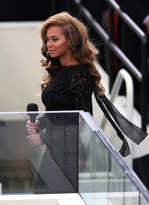 beyoncelookingatstuff:  Looking at her kingdom.