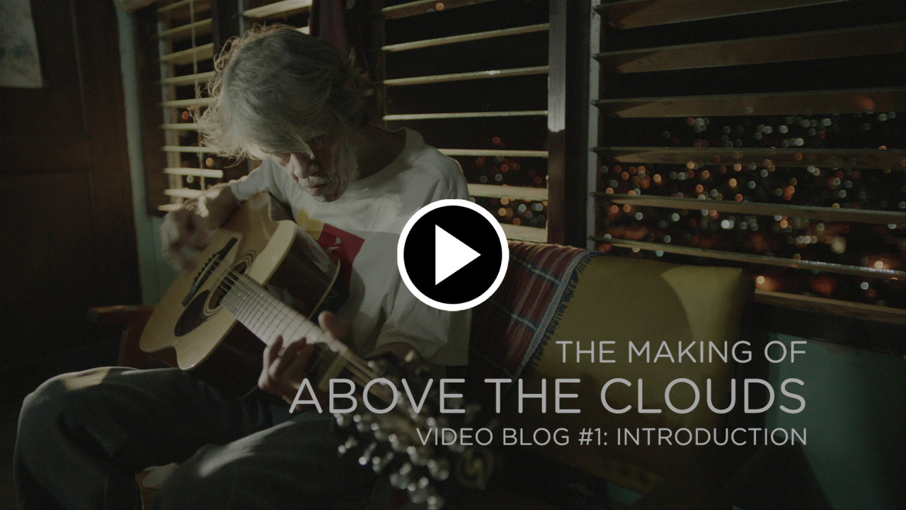 "Above the Clouds - Production Diary #1 Hi, everyone! I'd like to share with you our first behind-the-scenes video for Above the Clouds. We shot for a month in Baguio, Sagada, and Mount Pulag, and this video shows you how beautiful our locations are. We'll be posting more video diaries in the coming months, so you can follow our journey as we make the film. Add us on Facebook at http://facebook.com/AboveTheCloudsMovie. Btw, the song Pepe Smith is singing is called ""Sa Ihip ng Hangin,"" and it's from an actual scene in the movie. If you like this video, please help us by sharing it. We need a lot of help getting the word out. Thank you!"