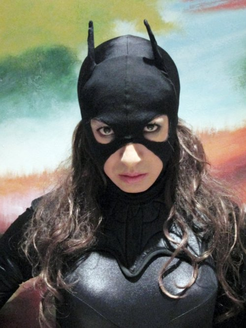 Armoured Batgirl Cosplay - Portrait by ~ozbattlechick