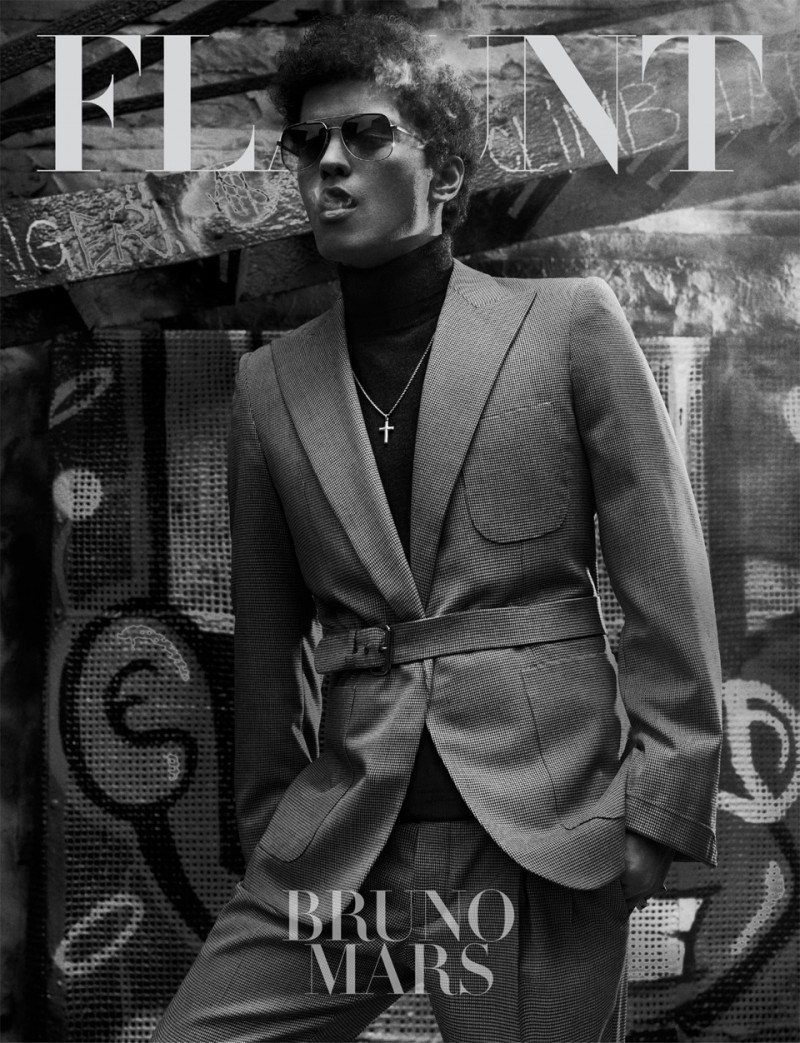 blogcouture4u:  Bruno Mars Covers the Latest Issue of Flaunt http://www.couture4u.blogspot.sk/2013/01/bruno-mars-flaunt-cimlapjan.html