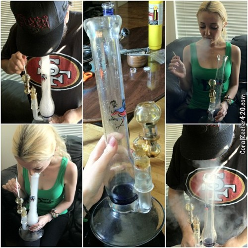 Dabbing with @CarpeChronic.