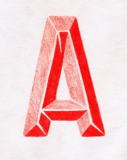 A letter a day keeps the typographers at bay.