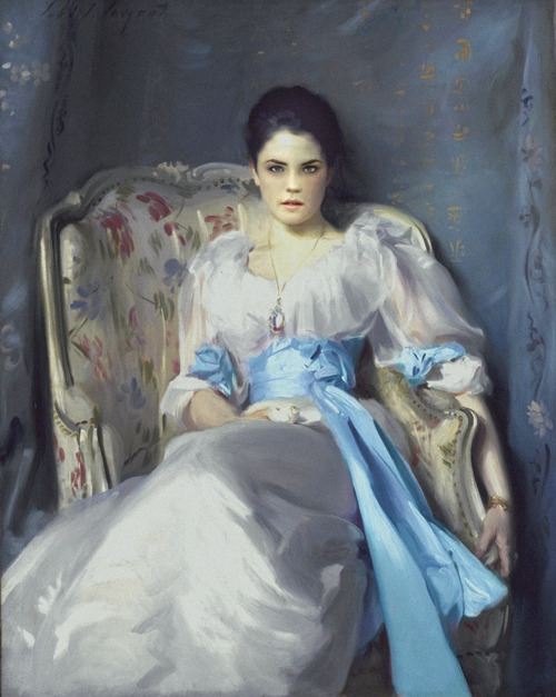 ladygranthams:  Cora Crawley, Lady Grantham by John Singer Sargent (1893)    Well, not really. Technically it's Lady Agnew, but I was bored tonight, and got to thinking what painter would be suited to paint some of the Downton Abbey characters. I came up with Sargent for Cora, because of obvious reasons. While he was an American (another reason why I think Cora'd pick him), he was living in England and Europe in the late 1800's (he had been elected to the Royal Academy in 1893), and was in vogue at the time, having painted the portraits of countless aristocrats. Henry James was a particular fan of his. This is Photoshop, however. Original painting + shot of Elizabeth McGovern in Ragtime. And lots of spare time. C'mon, what else is a fangirl to do on a Friday night?