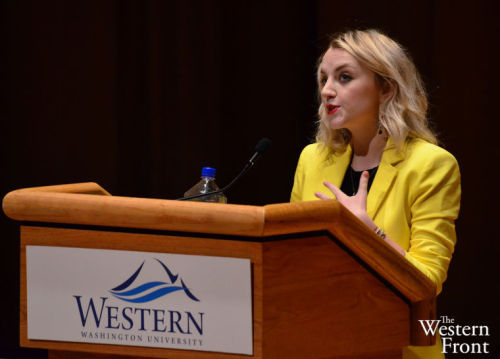 Evanna Lynch | Western Washington University Conference | May 15, 2013 | Pics by Daniel Pickard