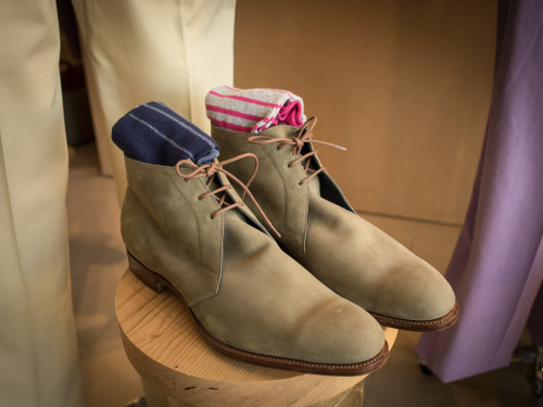 Edward Green Chukkas at Khaki's of Carmel