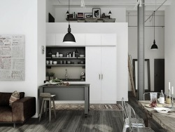 myidealhome:  loft living (via Masculine Design Elements)