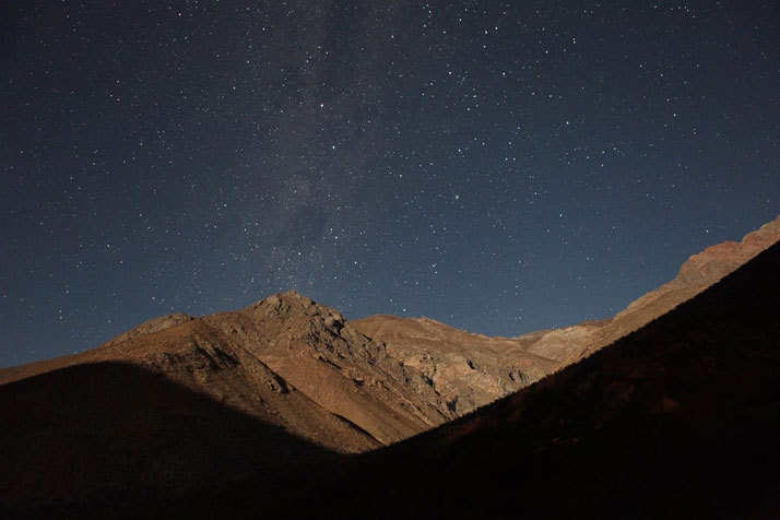 myampgoesto11:  Stargazing At The Elqui Domos Hotel In Chile | Designed by RDM Arquitectura | Photos by James Florio  In the heart of the mythical Elqui Valley in Pisco, surrounded by the Andes Mountains, 500km north of Santiago in central Chile, lies a magical place that allows for star-spangled dreams beneath the clear pure sky. Combining stargazing and specialized astronomic tours with night-time horseback riding, meditation and even tarot readings, Elqui Domos is a hotel quite like no other. It was completed in 2005 to fulfil its owners' desire to observe and enjoy the grandeur of the one of the world's most star-filled skies. It is one of only seven astronomic hotels around the world and the only one in the Southern Hemisphere, offering breathtaking views of the magic skies draped over the Elqui Valley (the valley is renowned for its sharp, clear skies, as it happens to sit under one of the clearest atmospheres in the world). The lack of rain and pleasant weather all year round set the perfect conditions for astronomic tourism, where guests can gather to enjoy a unique chance to liaise with the stars.  (via Yatzer)