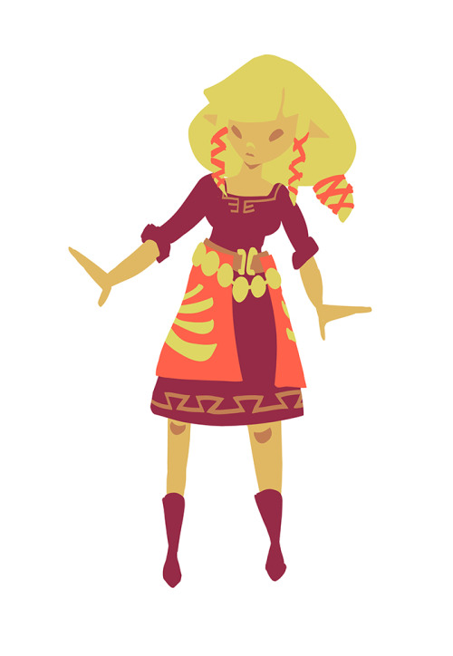 anordinaryadventurer:  I drew a Zelda. This happens inexplicably from time to time.