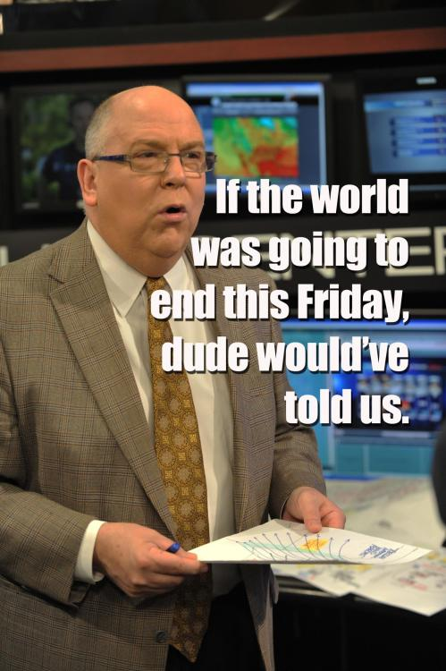 halfbakedidea:  katieislivinginthemoment:  FA SHAO #tomskilling  He would have just stood there with Nate Silver, shaking his head.  Automatic Reblog Tom Skilling.