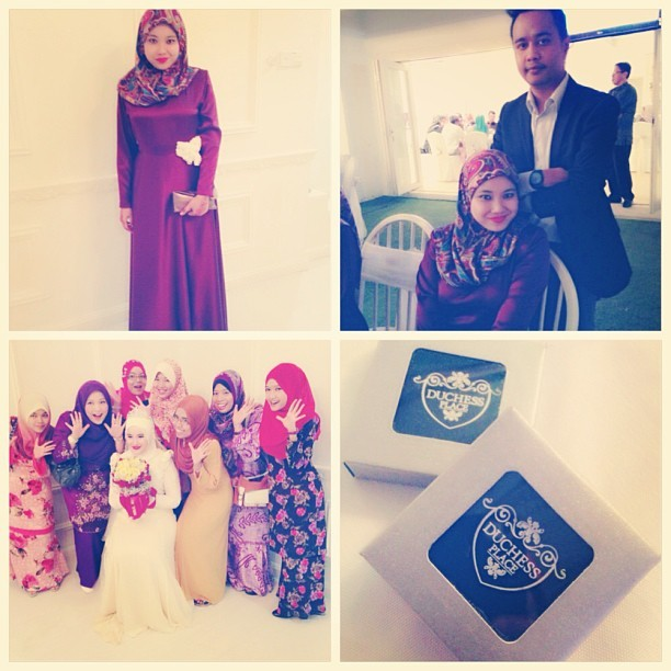 Reception Night. #reception #liyanaiman #gardenstheme #bestmemoriesever #alhamdulillah #iamabridesmaid #persandingan #greattohavebrotherinlaw (at Duchess Place)