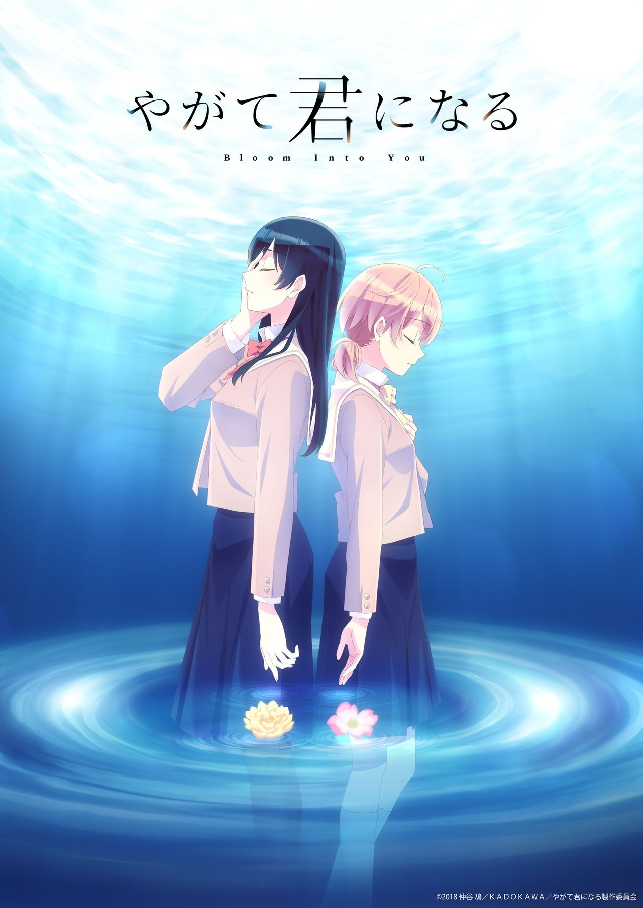 """Yagate Kimi ni Naru"" (Bloom Into You) TV anime key visual and staff revealed. It will be produced by studio Troyca. Series premiere October 2018. -Staff-• Director: Makoto Katou • Series Composition, Script: Jukki Hanada • Character Designer:..."