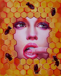 artmonia:  The hive by Italia Ruotolo.