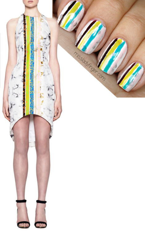 "MANICURE MUSE: Josh Goot Fall '13 ""Too Goot to be true."" Get the Ladyfinger…"