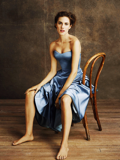 Allison Williams for Town &Country [April 2013] Read the full article here…