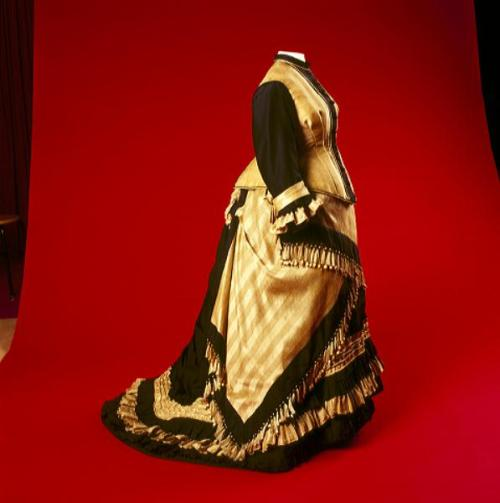 Dress ca. late 1870's From the Amsterdam Museum