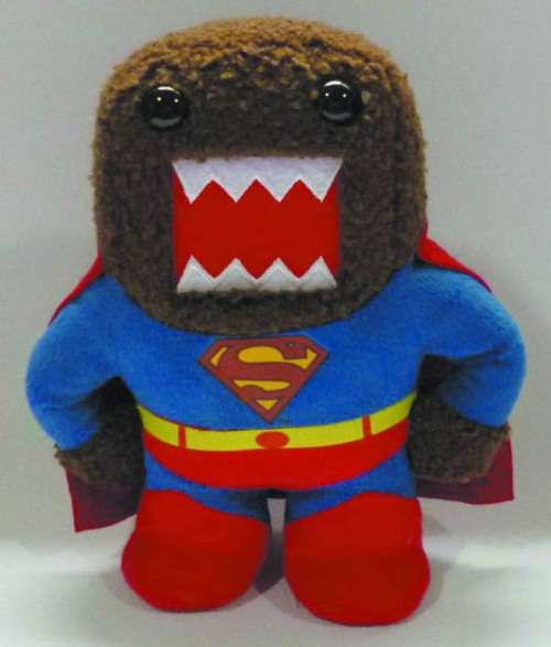 comicsinfinity:  Domo comes dressed as Superman for the newest Domo X DC Comics plush toy! Preorder it here: http://ow.ly/kXdFS