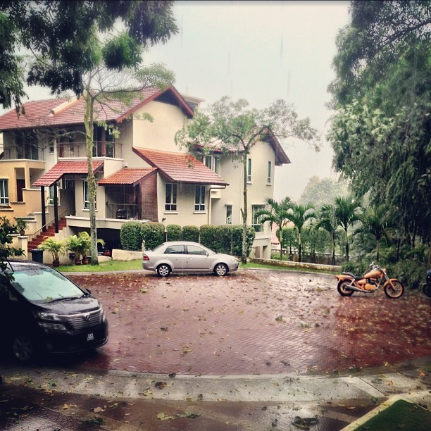 A wet #wet #day here… - #travel #malaysia