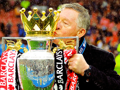 """It's been unbelievable, thank you for that."" - Sir Alex Ferguson"