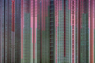 Architecture of Density in Hong Kong by Michael Wolf