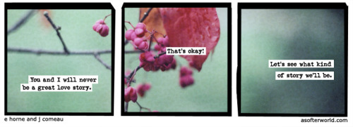 softerworld:  A Softer World: 946 (Oooh! Oooh! I hope it's science fiction!) buy this print