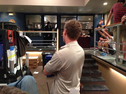 AD Terry Ham checking out take four on #criminalminds EP8x24 Day 5 of 8
