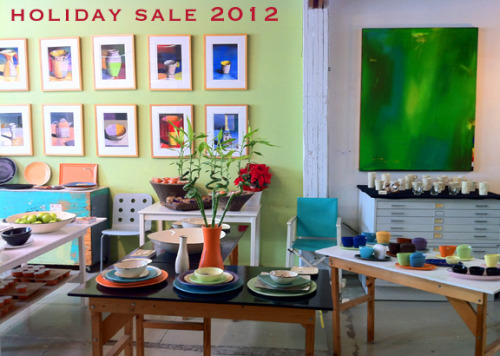 Dec 14-16 20% off all pottery in stock fri & sat, 25% sun.  Order online anytime and use the amount for purchase of anything in stock at the sale price.   We will let you know what is in stock.  You are also welcome to give us a call @ 310.396.8026