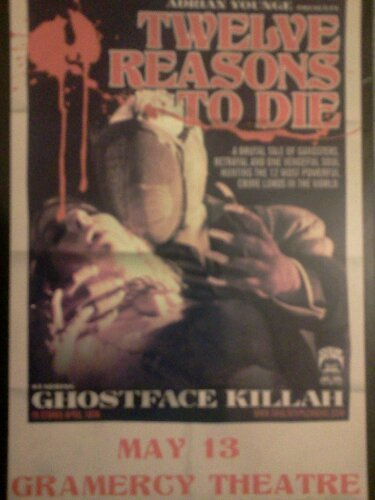 Ghostface Killah - 12 Reasons To DieGFK dropped a new album April 18th and he's hitting the road with this new material.  Catch him at…View Post