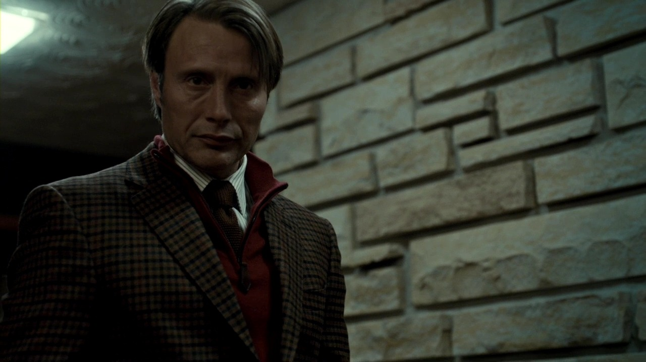 Hannibal + looking awesome …Like a sir. The first , the second and last pics though….I can watch forever. I just know where my soul went.