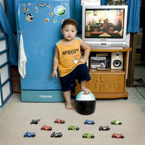 Loving these. So fascinating.  Photos of Children From Around the World With Their Most Prized Possessions