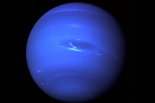 thegrandeur:  At an average distance of 2.8 billion miles from the sun, Neptune generates more heat itself than it absorbs from sun. That heat creates massive storms and winds going up to 900 miles an hour.