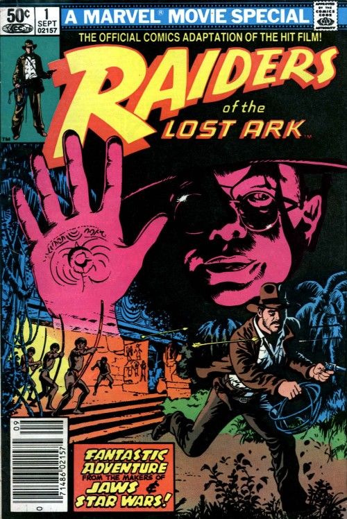 Raiders Of the Lost Ark #1, September 1981, cover by Gene Day