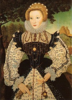 "mzteeeyed:  windypoplarsroom:Artist unknown.""Portrait of an Unknown Lady""(ca. 1560)"