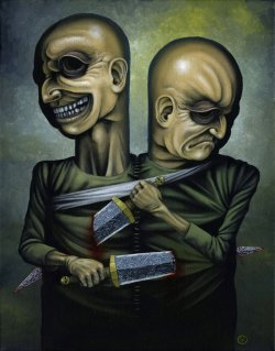 Myself and I by Jeff Christensen / posted by ianbrooks.me