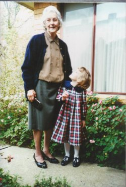 Happy 97th Birthday in Heaven Nanna! This is a photo of my Nanna & I in late 1993/early 1994 just after I turned 3.It's her first birthday since she passed away 11 months ago. Hard to believe she's been gone for almost a year. I miss her so much. There are so many things I wish I could tell her. Nanna, I hope you're having a lovely day in Heaven with Poppa. 3 May 1916 - 4 June 2012 <3