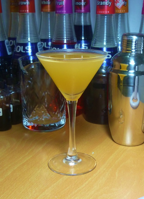 Omar's Delight Southern Comfort - 1 1/2 oz Lemon Juice - 1/2 oz Lime Juice - 1/2 oz Orange Curaçao - 1/2 oz Simple Syrup - 1/2 tsp Shake everything with crushed ice and strain into a chilled sour glass or cocktail glass. From the Rubaiyat Cocktail Lounge of Omar Khayyam's restaurant, San Francisco, circa 1939. A good Southern Comfort cocktail is hard to find, not that there is anything wrong with this liqueur, but the way it's been abused by today's bartenders. Omar's Delight is not bad, it uses Southern Comfort as base, hence the biting sweetness, but luckily the drink is more or less balanced by the lemon juice. This is one of those drinks I'd strongly recommend using Grand Marnier for the orange curaçao.
