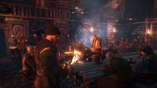 Screenshots for CD Projekt Red's upcoming sequel to their bestselling RPG series, Witcher 3: Wild Hunt via Kotaku