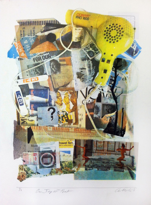 On Top of That Silkscreen, Collage 2013